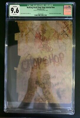 The Walking Dead Chop Shop Journal Nycc Comic Con 2013 Cgc 9.6 Nm & Very Rare!