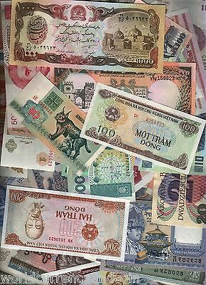 100 All Different X 100 Sets World Banknote Collection Bundle Wholesale Deal Lot