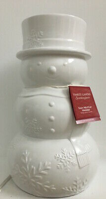 Yankee Candle Snowman Blizzard Scenterpiece Warmer Easy Melt Cup System