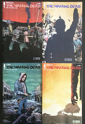 Walking Dead 190, 191, 192, 193, Blank - Death Of Rick Grimes Last Issue Hot Amc