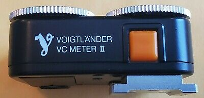 Voigtlander Vc Meter Ii. Excellent Condition With Very Fast Secure Shipping!