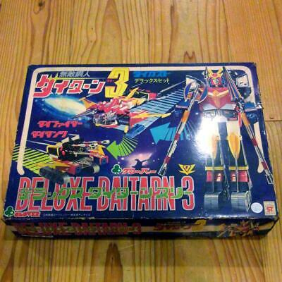 Clover Invincible Steel Man Deluxe Daitarn 3 Chogokin Die-cast Figure Doll Used