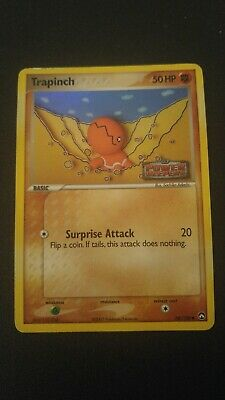 1x Trapinch 68/108 EX Power Keepers Reverse Holo Pokemon Card