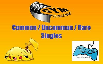 Pokemon WOTC Gym Challenge Card Singles - Common / Uncommon / Rare TCG Unlimited