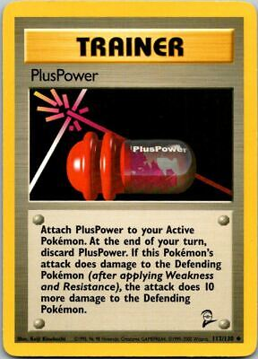 PlusPower 113/130 Base Set 2 Pokemon Card ~ LP
