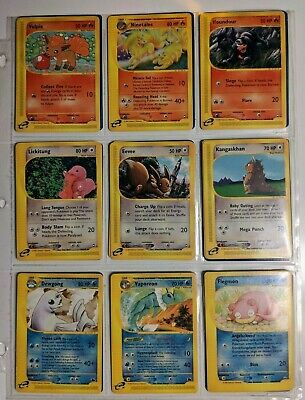 Aquapolis Pokemon Cards! Finish your set! Good Condition!