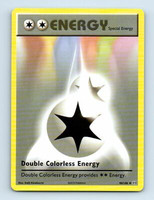 Double Colorless Energy 90/108 Non-Holo XY Evolutions Pokemon Card ~ Near Mint