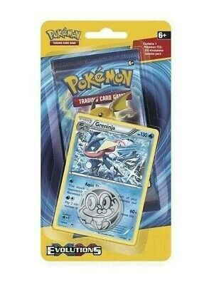 New Pokemon TCG  XY Evolutions Boosters pack Factory SEALED GRENINJA PROMO RARE
