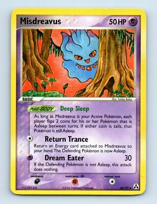 Misdreavus 40/92 Non-Holo Ex Legend Maker Pokemon Card ~ LP