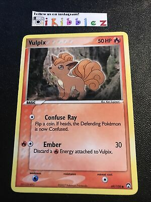 Pokemon Vulpix 69/108 NM Power Keepers Pokemon Card. Fast Shipping w/Tracking!