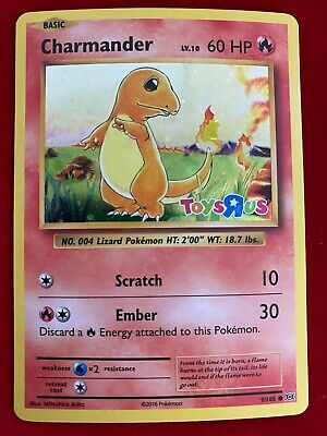 Charmander 2016 Pokemon XY Evolutions Toys R Us Promo 9/108 Base