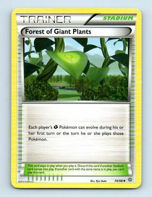 Forest of Giant Plants 74/98 Non-Holo XY Ancient Origins Pokemon Card ~ LP