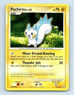 Pachirisu 35/130 Non-Holo Diamond & Pearl Pokemon Card ~ LP