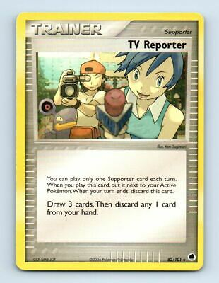 TV Reporter 82/101 Non-Holo Ex Dragon Frontiers Pokemon Card ~ LP