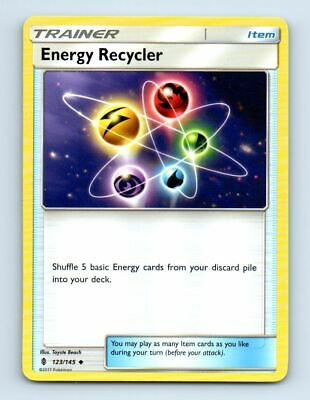 Energy Recycler 123/145 Non-Holo Guardians Rising Pokemon Card ~ LP