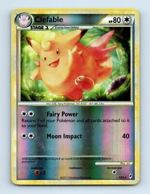 Clefable 1/95 Reverse Holo Call of Legends Pokemon Card ~ LP
