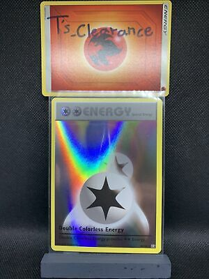 Pokemon XY Evolutions Double Colorless Energy 90/108 Reverse Holo Pack Fresh