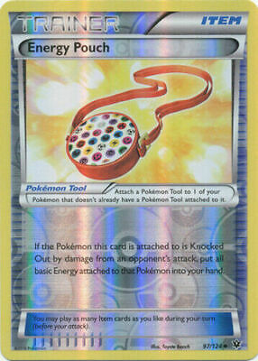 Energy Pouch 97/124 Fates Collide Reverse Holo Near Mint Pokemon DNA GAMES