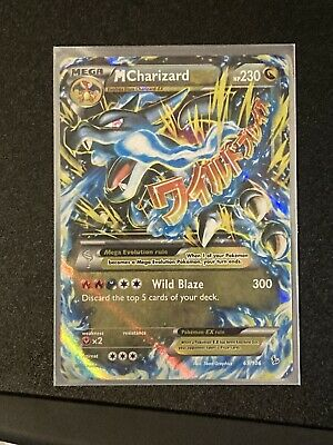 2014 Pokemon XY Flashfire Mega M Charizard EX 69/106 Holo Pack Fresh