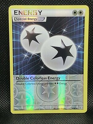 Pokemon Double Colorless Energy XY Generations Reverse Holo 74/83 Excellent Cond