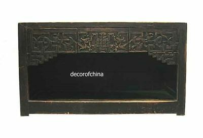 Rare Chinese Antique Wooden Table W/hand Carving G12-21