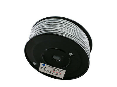 "3/8"" vinyl coated galvanized cable / wire rope 7 x 19"