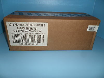 2012 Panini Football Limited Case Sealed 15b Rusell Wilson Andrew Luck Auto Rc ?