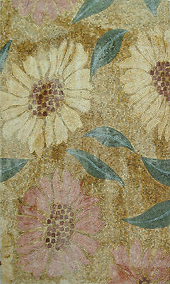 Yellow Wild Flower Collection Mix Home Decor Wall Marble Mosaic Fl494