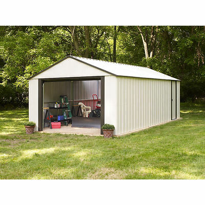arrow murrayhill vinyl coated steel shed 14