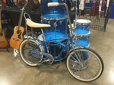 1964 Usa Schwinn Stingray Super Deluxe Bicycle Blue Local Pickup Only