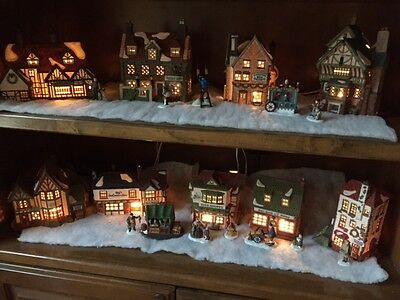 Collectible Collection Of Department 56 Dickens Village