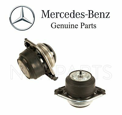 For Mercedes X164 Gl320 Gl350 Turbo Pair Set Of 2 Engine Motor Mounts Genuine