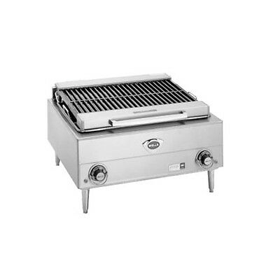 """Wells B-40-240 24"""" Electric Countertop Charbroiler - 240v"""