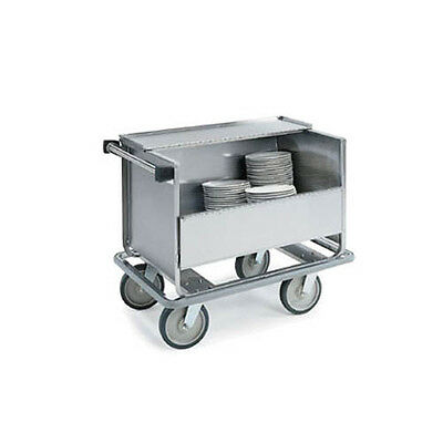 "lakeside 705 32""x21""x31 1/2"" stainless steel store n carry dish truck"