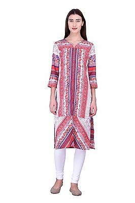 Одежда Kurta Laabha Multicolor Bollywood Crepe