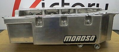 New Aluminum Moroso Drag Race Oil Pan Custom Similar To 21592