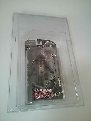 Empty Plastic Protective Clamshell Case Fits Skybound Walking Dead Toy Figure