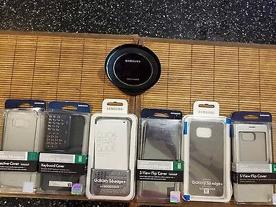 Samsung Galaxy S Edge+ 6 Covers And Wireless Charger (original Accessorie