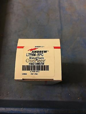 Andrew L7pnm-rpc Type N Male Onepiece™ For 1-5/8 In Ldf7-50a Cable Lot Of 38 New