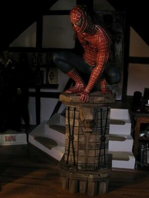 spider man 3 1:1 replica prop full life size figure statue muckle / oxmox