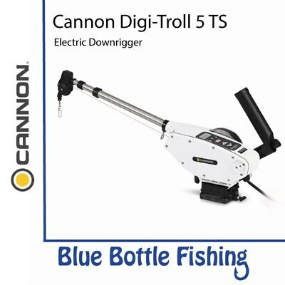 New Cannon Digi-troll 5 Ts Electric Downrigger From Blue Bottle Fishing