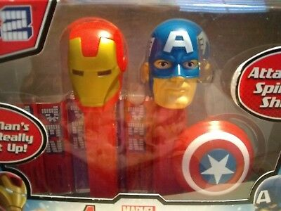 Marvel Avengers Pez Dispenser -- New In Sealed Packaging -- Collectible