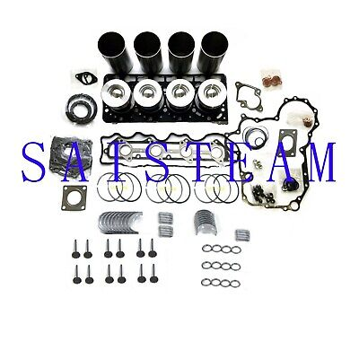Kubota V3300 Engine Rebuild Kit Fits12 Valves Engine Excavator Generator Tractor