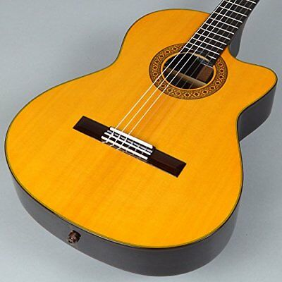 K. Yairi Ce-1 Ns Electric Classical Guitar With Hard Case