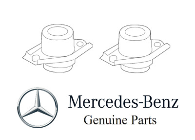 Genuine For Mercedes Gl350 Ml350 Driver Left & Pass. Right Motor Mounts Set