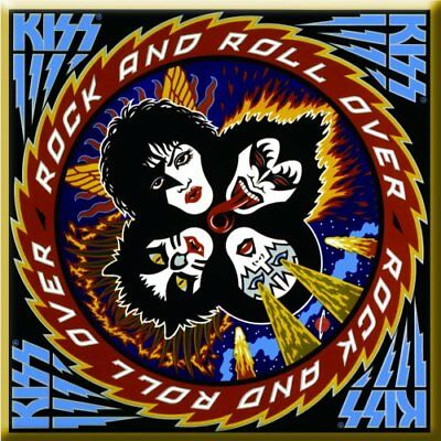 Kiss - Rock And Roll Over - Classic Album Cover Fridge Magnet