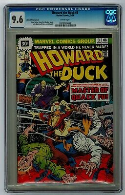 Howard The Duck #3 30 Cent Price Variant 9.6 Cgc