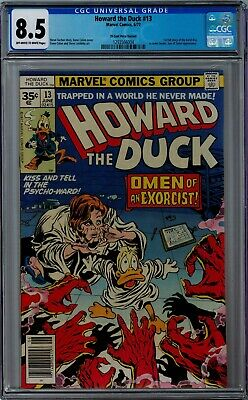 Howard The Duck #13 35 Cent Price Variant 8.5 Cgc