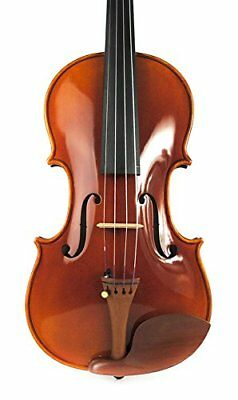 Promaster Dark Oil Color Left Hand Violin 4-4 Sweet Rich Excellent Tone Master A