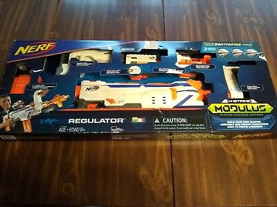 Nerf N Strike Modulus Regulator Multi Blaster Gun (pre Owned)